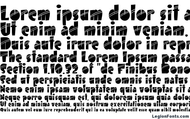 specimens Airmole Stripe font, sample Airmole Stripe font, an example of writing Airmole Stripe font, review Airmole Stripe font, preview Airmole Stripe font, Airmole Stripe font