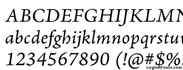glyphs AJensonPro ItCapt font, сharacters AJensonPro ItCapt font, symbols AJensonPro ItCapt font, character map AJensonPro ItCapt font, preview AJensonPro ItCapt font, abc AJensonPro ItCapt font, AJensonPro ItCapt font