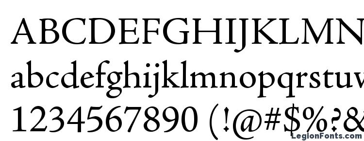 glyphs AJensonPro Regular font, сharacters AJensonPro Regular font, symbols AJensonPro Regular font, character map AJensonPro Regular font, preview AJensonPro Regular font, abc AJensonPro Regular font, AJensonPro Regular font