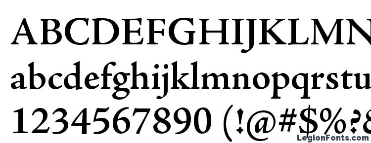 глифы шрифта AJensonPro Semibold, символы шрифта AJensonPro Semibold, символьная карта шрифта AJensonPro Semibold, предварительный просмотр шрифта AJensonPro Semibold, алфавит шрифта AJensonPro Semibold, шрифт AJensonPro Semibold