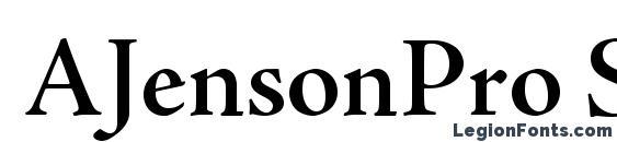 AJensonPro SemiboldSubh Font