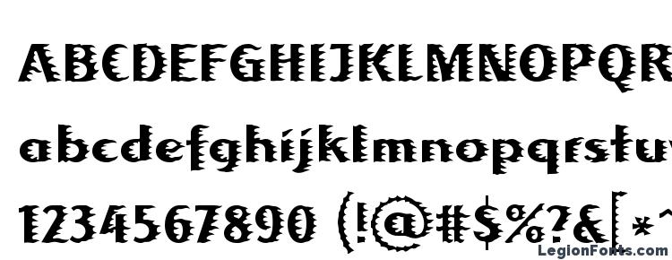 глифы шрифта Albafire LT Regular, символы шрифта Albafire LT Regular, символьная карта шрифта Albafire LT Regular, предварительный просмотр шрифта Albafire LT Regular, алфавит шрифта Albafire LT Regular, шрифт Albafire LT Regular