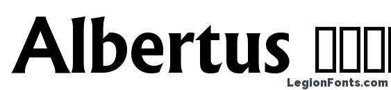 Albertus Полужирный Font