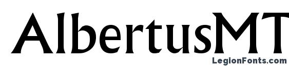 AlbertusMTStd Font