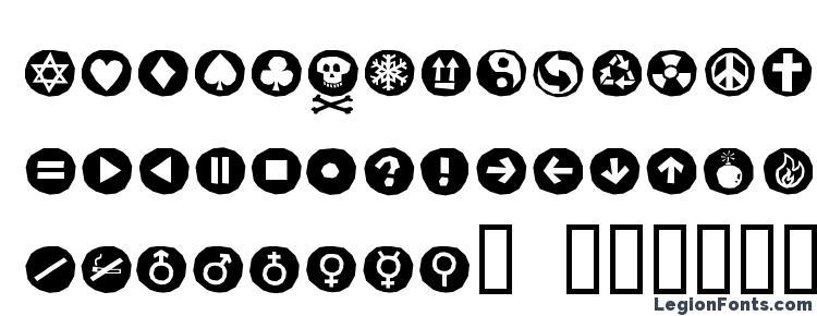 глифы шрифта AleSignsBlackLL, символы шрифта AleSignsBlackLL, символьная карта шрифта AleSignsBlackLL, предварительный просмотр шрифта AleSignsBlackLL, алфавит шрифта AleSignsBlackLL, шрифт AleSignsBlackLL