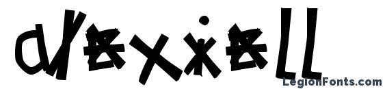 шрифт AlexieLL, бесплатный шрифт AlexieLL, предварительный просмотр шрифта AlexieLL
