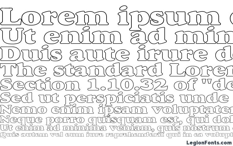 specimens Alexuss Heavy Hollow Wide font, sample Alexuss Heavy Hollow Wide font, an example of writing Alexuss Heavy Hollow Wide font, review Alexuss Heavy Hollow Wide font, preview Alexuss Heavy Hollow Wide font, Alexuss Heavy Hollow Wide font