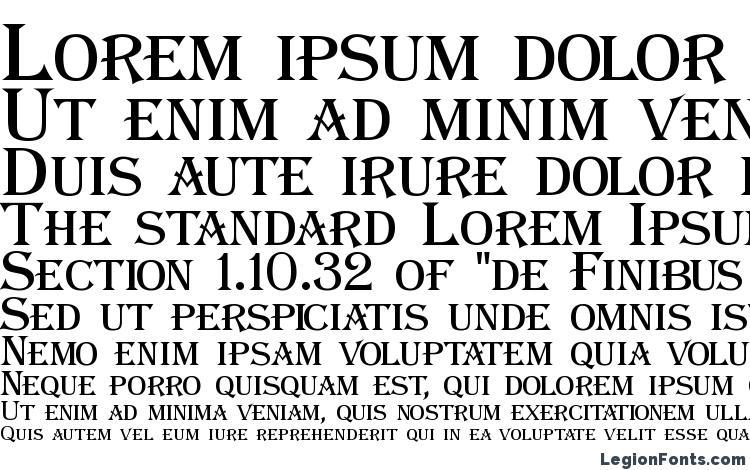 specimens Algeric font, sample Algeric font, an example of writing Algeric font, review Algeric font, preview Algeric font, Algeric font