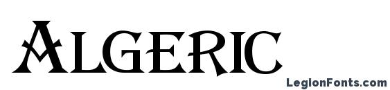 Algeric Font