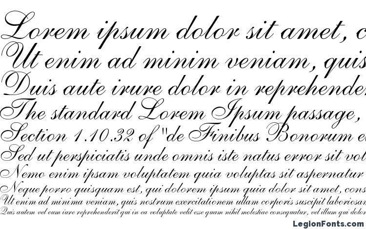 specimens Allegretto Script One font, sample Allegretto Script One font, an example of writing Allegretto Script One font, review Allegretto Script One font, preview Allegretto Script One font, Allegretto Script One font