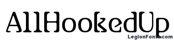 AllHookedUp Font