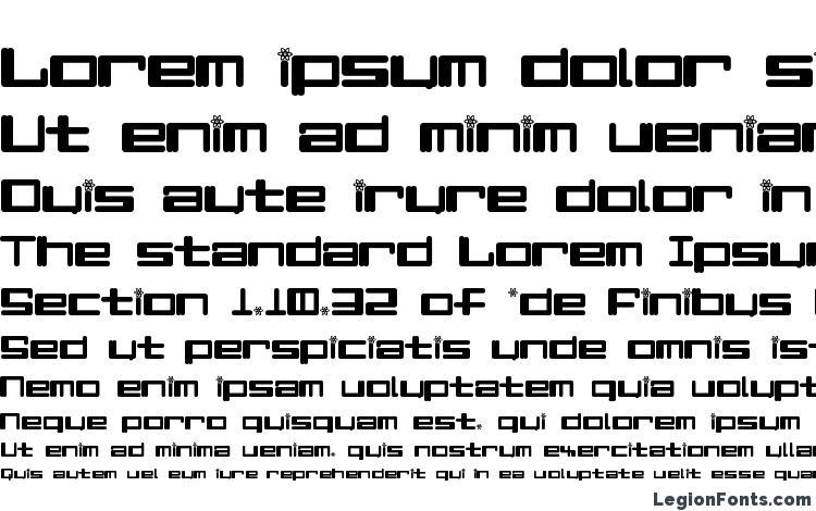specimens Alpha Niner font, sample Alpha Niner font, an example of writing Alpha Niner font, review Alpha Niner font, preview Alpha Niner font, Alpha Niner font