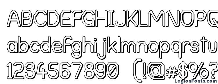 glyphs Alpha Romanie Outline G98 font, сharacters Alpha Romanie Outline G98 font, symbols Alpha Romanie Outline G98 font, character map Alpha Romanie Outline G98 font, preview Alpha Romanie Outline G98 font, abc Alpha Romanie Outline G98 font, Alpha Romanie Outline G98 font