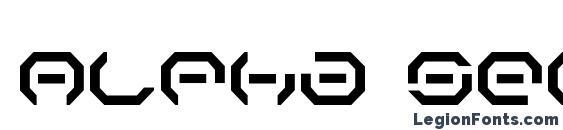 Alpha Sentry font, free Alpha Sentry font, preview Alpha Sentry font