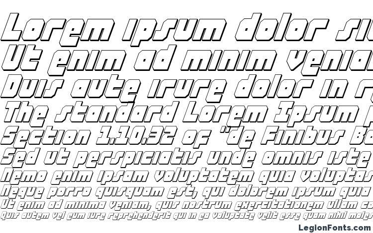 specimens Alpha Taurus 3D Italic font, sample Alpha Taurus 3D Italic font, an example of writing Alpha Taurus 3D Italic font, review Alpha Taurus 3D Italic font, preview Alpha Taurus 3D Italic font, Alpha Taurus 3D Italic font