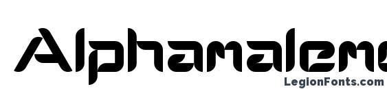 Шрифт Alphamalemodern, Симпатичные шрифты