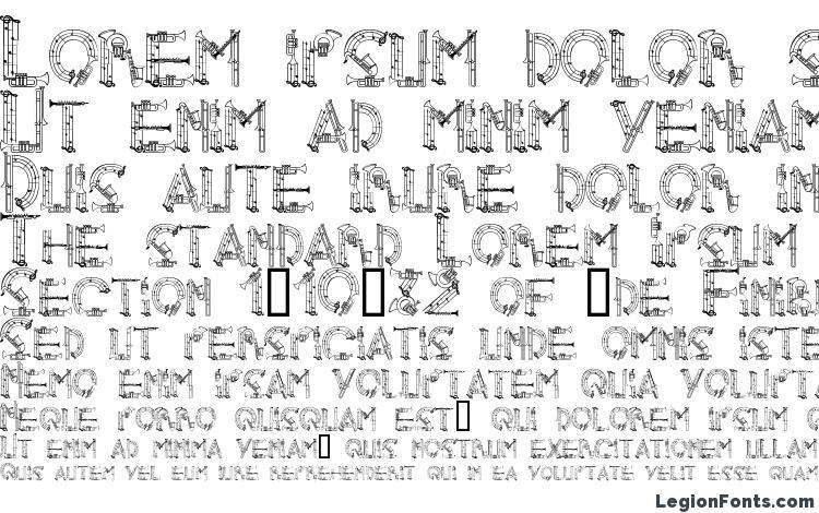 specimens AlphaMusicMan font, sample AlphaMusicMan font, an example of writing AlphaMusicMan font, review AlphaMusicMan font, preview AlphaMusicMan font, AlphaMusicMan font