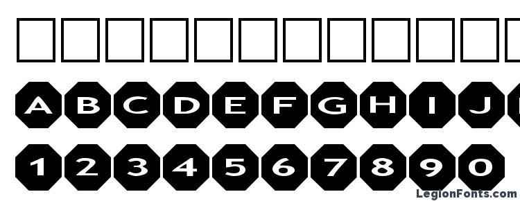 glyphs Alphashapes octagons font, сharacters Alphashapes octagons font, symbols Alphashapes octagons font, character map Alphashapes octagons font, preview Alphashapes octagons font, abc Alphashapes octagons font, Alphashapes octagons font