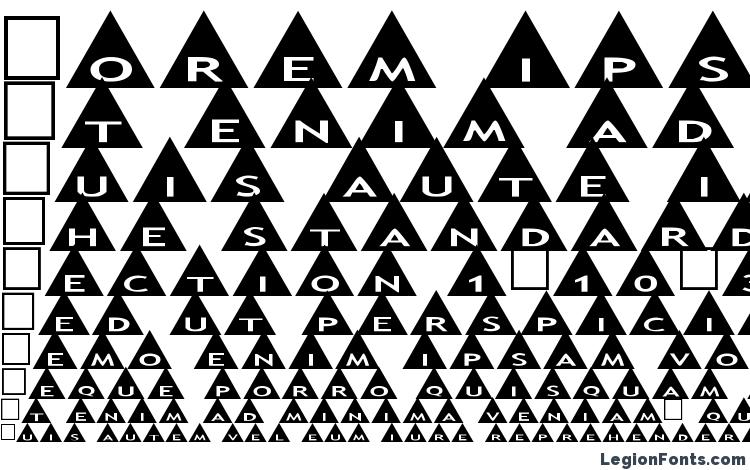 образцы шрифта Alphashapes triangles, образец шрифта Alphashapes triangles, пример написания шрифта Alphashapes triangles, просмотр шрифта Alphashapes triangles, предосмотр шрифта Alphashapes triangles, шрифт Alphashapes triangles