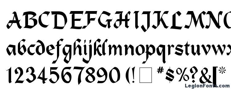 glyphs Alpine Medium font, сharacters Alpine Medium font, symbols Alpine Medium font, character map Alpine Medium font, preview Alpine Medium font, abc Alpine Medium font, Alpine Medium font