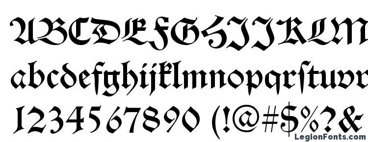 Alte Schwabacher Regular Font Download Free / LegionFonts