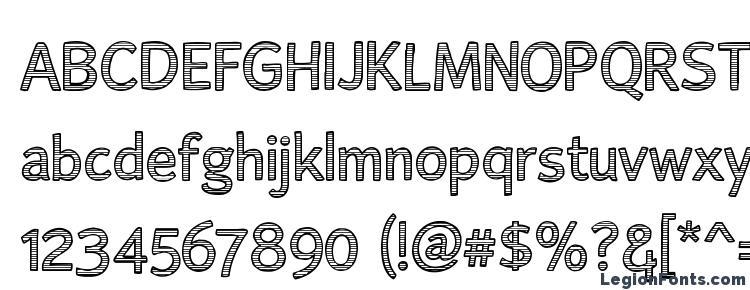 glyphs AlumFreePromotional font, сharacters AlumFreePromotional font, symbols AlumFreePromotional font, character map AlumFreePromotional font, preview AlumFreePromotional font, abc AlumFreePromotional font, AlumFreePromotional font