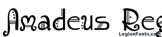 Шрифт Amadeus Regular