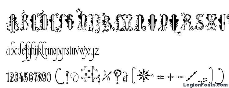 глифы шрифта Amadeus, символы шрифта Amadeus, символьная карта шрифта Amadeus, предварительный просмотр шрифта Amadeus, алфавит шрифта Amadeus, шрифт Amadeus