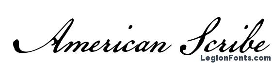 Шрифт American Scribe, Свадебные шрифты