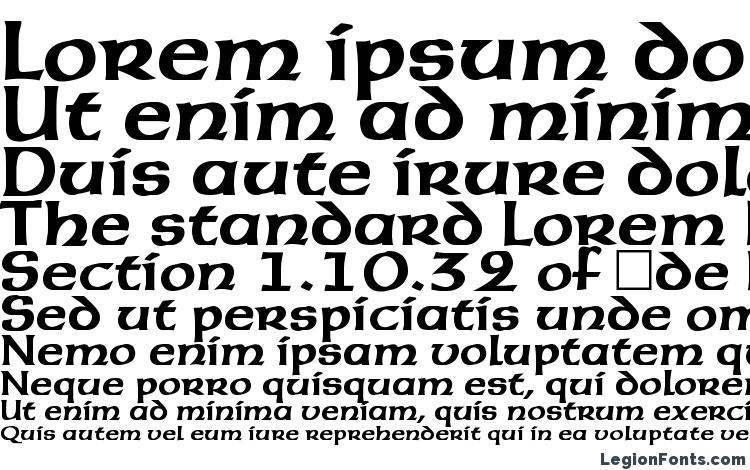 specimens AmericanUncial Bold font, sample AmericanUncial Bold font, an example of writing AmericanUncial Bold font, review AmericanUncial Bold font, preview AmericanUncial Bold font, AmericanUncial Bold font