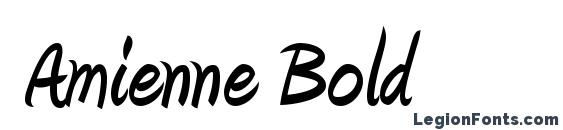 amienne bold font
