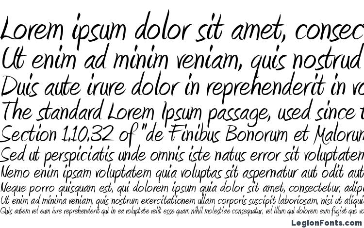 amienne normal font