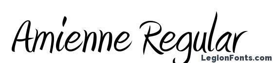 Amienne Regular Font