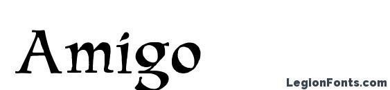 Amigo Font, Medieval Fonts
