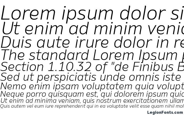 образцы шрифта Amino Light Italic, образец шрифта Amino Light Italic, пример написания шрифта Amino Light Italic, просмотр шрифта Amino Light Italic, предосмотр шрифта Amino Light Italic, шрифт Amino Light Italic