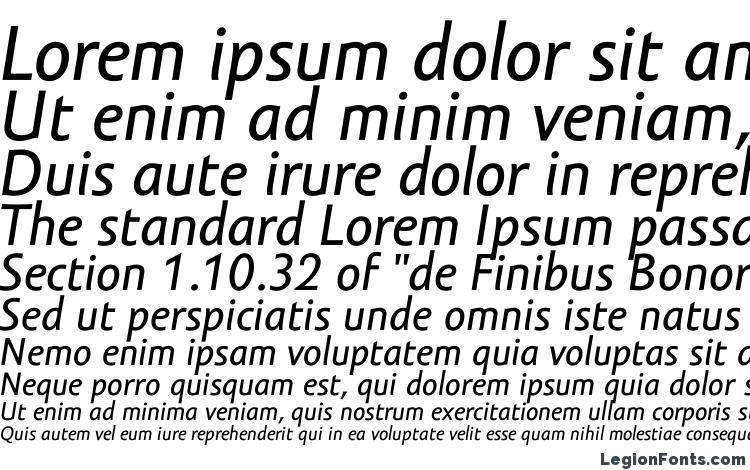 specimens Amor Sans Text Pro Italic font, sample Amor Sans Text Pro Italic font, an example of writing Amor Sans Text Pro Italic font, review Amor Sans Text Pro Italic font, preview Amor Sans Text Pro Italic font, Amor Sans Text Pro Italic font