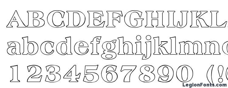 глифы шрифта Amphion Outline, символы шрифта Amphion Outline, символьная карта шрифта Amphion Outline, предварительный просмотр шрифта Amphion Outline, алфавит шрифта Amphion Outline, шрифт Amphion Outline