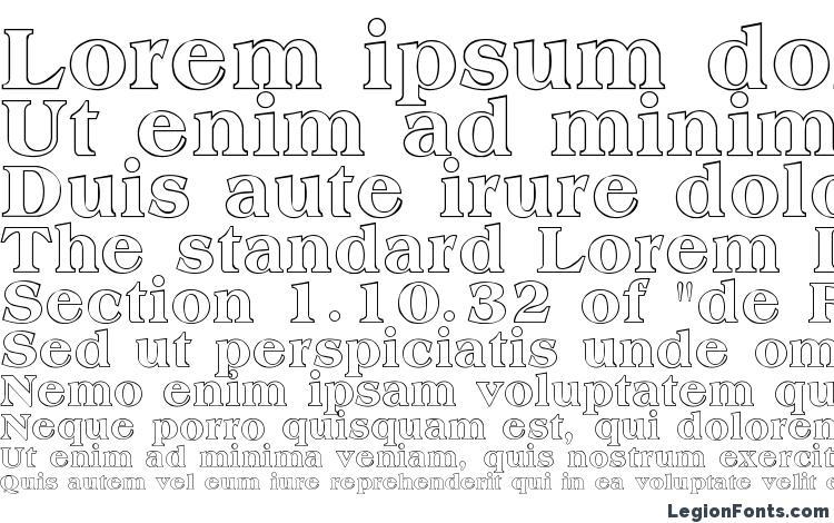 образцы шрифта Amphion Outline, образец шрифта Amphion Outline, пример написания шрифта Amphion Outline, просмотр шрифта Amphion Outline, предосмотр шрифта Amphion Outline, шрифт Amphion Outline