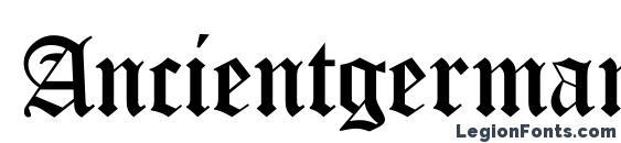 Ancientgermangothicc Font