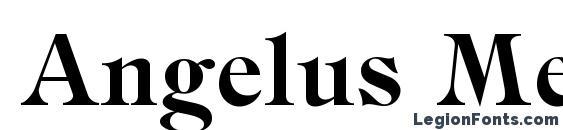 шрифт Angelus Medieval, бесплатный шрифт Angelus Medieval, предварительный просмотр шрифта Angelus Medieval
