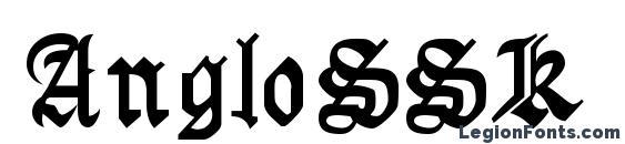 AngloSSK Font