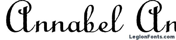 Шрифт Annabel Antique Script