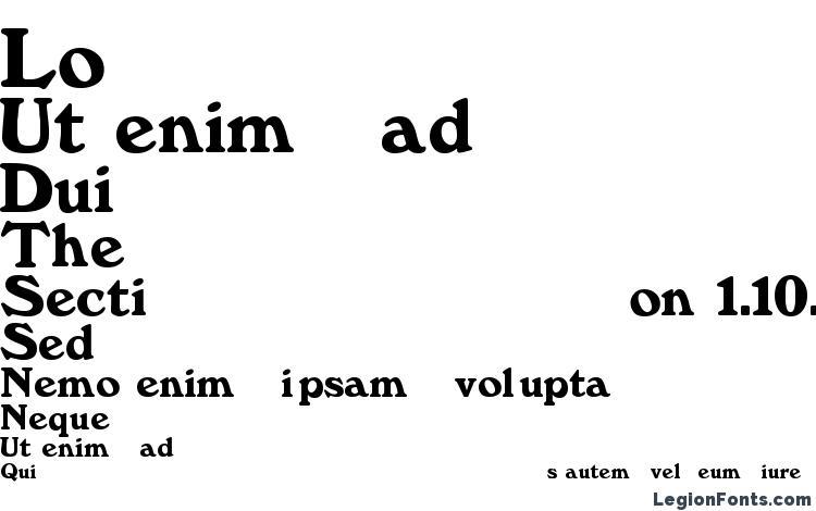 specimens Annfold font, sample Annfold font, an example of writing Annfold font, review Annfold font, preview Annfold font, Annfold font