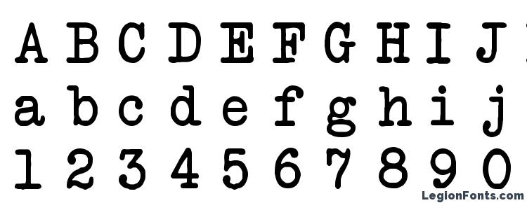 glyphs Another Typewriter font, сharacters Another Typewriter font, symbols Another Typewriter font, character map Another Typewriter font, preview Another Typewriter font, abc Another Typewriter font, Another Typewriter font