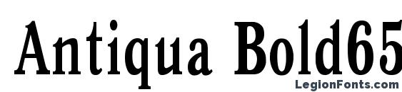 Шрифт Antiqua Bold65b