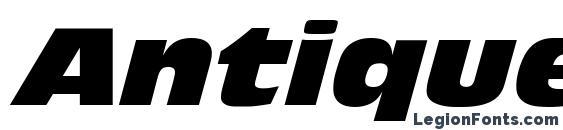 Antique Olive LT Nord Italic Font Download Free / LegionFonts