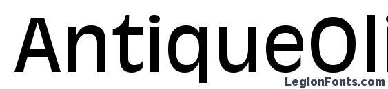 AntiqueOliveStd Roman font, free AntiqueOliveStd Roman font, preview AntiqueOliveStd Roman font