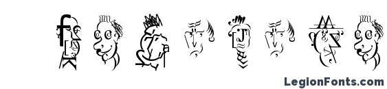 Antypepatics Font, Icons Fonts