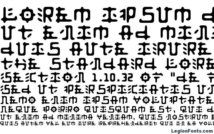 образцы шрифта Anyong, образец шрифта Anyong, пример написания шрифта Anyong, просмотр шрифта Anyong, предосмотр шрифта Anyong, шрифт Anyong