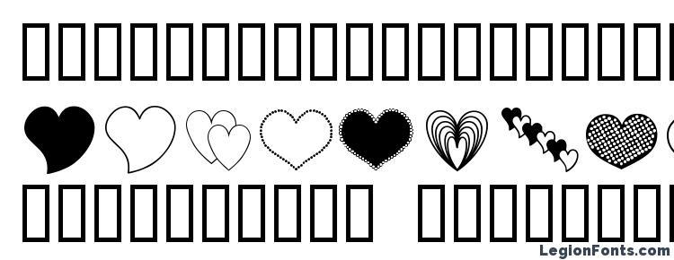 glyphs Ap justhearts font, сharacters Ap justhearts font, symbols Ap justhearts font, character map Ap justhearts font, preview Ap justhearts font, abc Ap justhearts font, Ap justhearts font